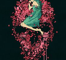 Sleeping on Bed of Roses by Budi Satria Kwan