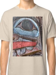 Haida First Nations Totem Carving Classic T-Shirt