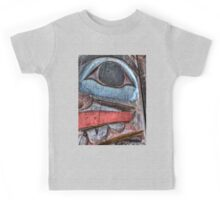 Haida First Nations Totem Carving Kids Tee