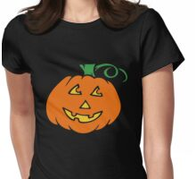 Happy jack-o-lantern  Womens Fitted T-Shirt