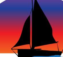 Sail Away with me St. Thomas Sticker