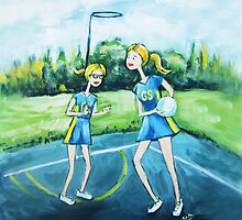Saturday Netball by Ira Mitchell-Kirk