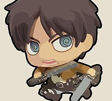 Eren Jaeger: Attack on Titan (With Name) by unprecented