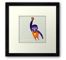Amare Stoudemire STAT NBAlien Framed Print