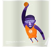 Amare Stoudemire STAT NBAlien Poster