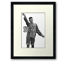 Will Smith Swerve Framed Print