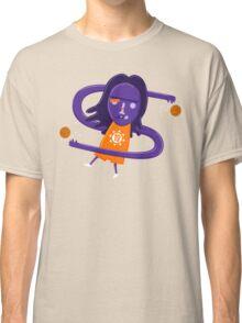 Steve Nash getting Nashty NBAlien Classic T-Shirt