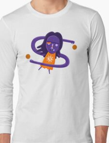 Steve Nash getting Nashty NBAlien Long Sleeve T-Shirt