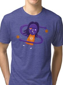 Steve Nash getting Nashty NBAlien Tri-blend T-Shirt