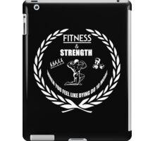 Strength & Fitness iPad Case/Skin