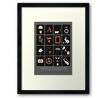 Books Are Good For You Framed Print