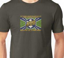 Starship Troopers Propaganda grunge flag Unisex T-Shirt