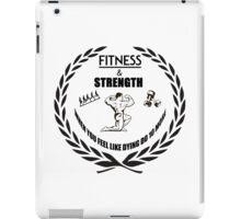 Strength and Fitness iPad Case/Skin