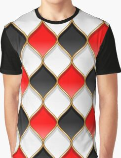 Harley Quinn pattern Graphic T-Shirt