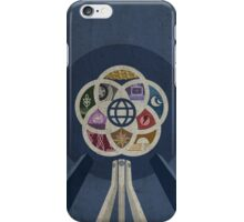 EPCOT Center iPhone and TShirt iPhone Case/Skin