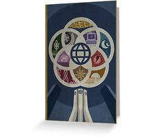 EPCOT Center iPhone and TShirt Greeting Card