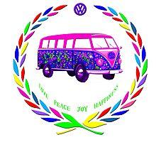 Love Bus Photographic Print