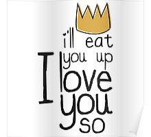 I'll Eat You Up, I Love You Poster
