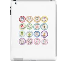 INSIGNIAS TUMBLR ICONS VARIOUS iPad Case/Skin