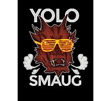 Yolo SMAUG! Photographic Print