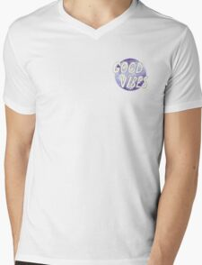 GOOD VIBES TUMBLR TRANSPARENT Mens V-Neck T-Shirt
