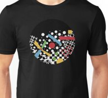 Ticker Tape Geometric Unisex T-Shirt