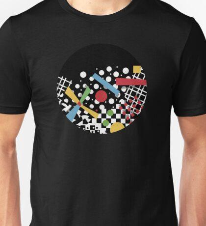 Ticker Tape Geometric Unisex T-Shirt