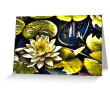 Surreal Lilly Greeting Card