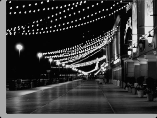 Night Lights on the Boardwalk   ^ by ctheworld