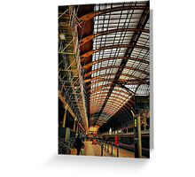 Paddington Station, London Greeting Card
