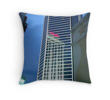 Tower Reflections  ^ Throw Pillow