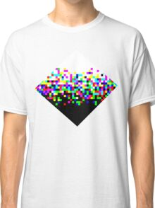 Black and White Noise Classic T-Shirt