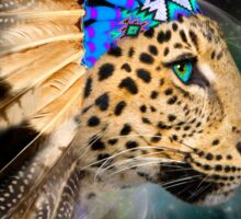Fight For What You Love (Chief of Dreams: Amur Leopard) Sticker