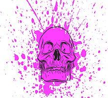Skull: Purple Haze by Mark Anthony Torelli