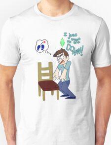 Angry Sim Unisex T-Shirt