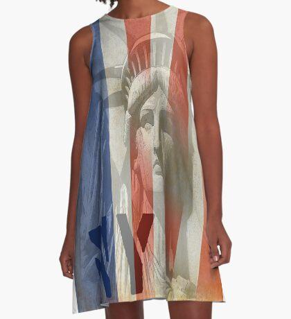 liberty A-Line Dress