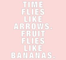 Time flies like arrows Kids Clothes