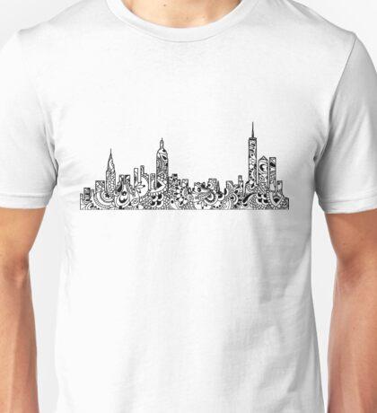 NYC Mandala Skyline  Unisex T-Shirt