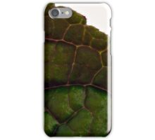 Plecanthrus Leaf Details - Macro  iPhone Case/Skin