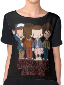 Stranger Things Have Happened Chiffon Top