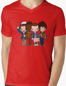 Stranger Things Have Happened Mens V-Neck T-Shirt