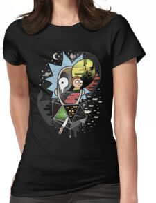 Rick Polarity Womens Fitted T-Shirt