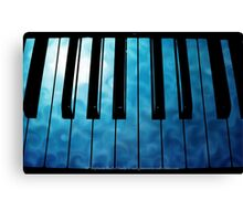Play The Magic Of The Night Canvas Print