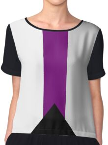 Demisexual Flag Chiffon Top