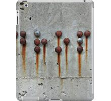Rusty Buttons 2  iPad Case/Skin
