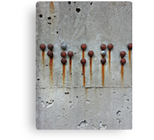 Rusty Buttons 2  Canvas Print