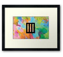 Bars 3 Framed Print
