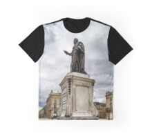 Sculpture of king Stanislas on the central square of Nancy, France Graphic T-Shirt