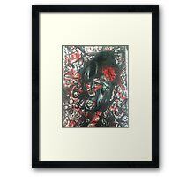 Expressive Amy Winehouse Framed Print