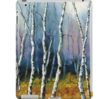 Winter Reverie by Lisa Elley. Palette knife painting in oil  iPad Case/Skin
